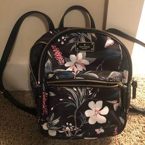Kate Spade Botanical Floral Backpack